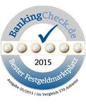 Bester Festgeldmarktplatz 2015