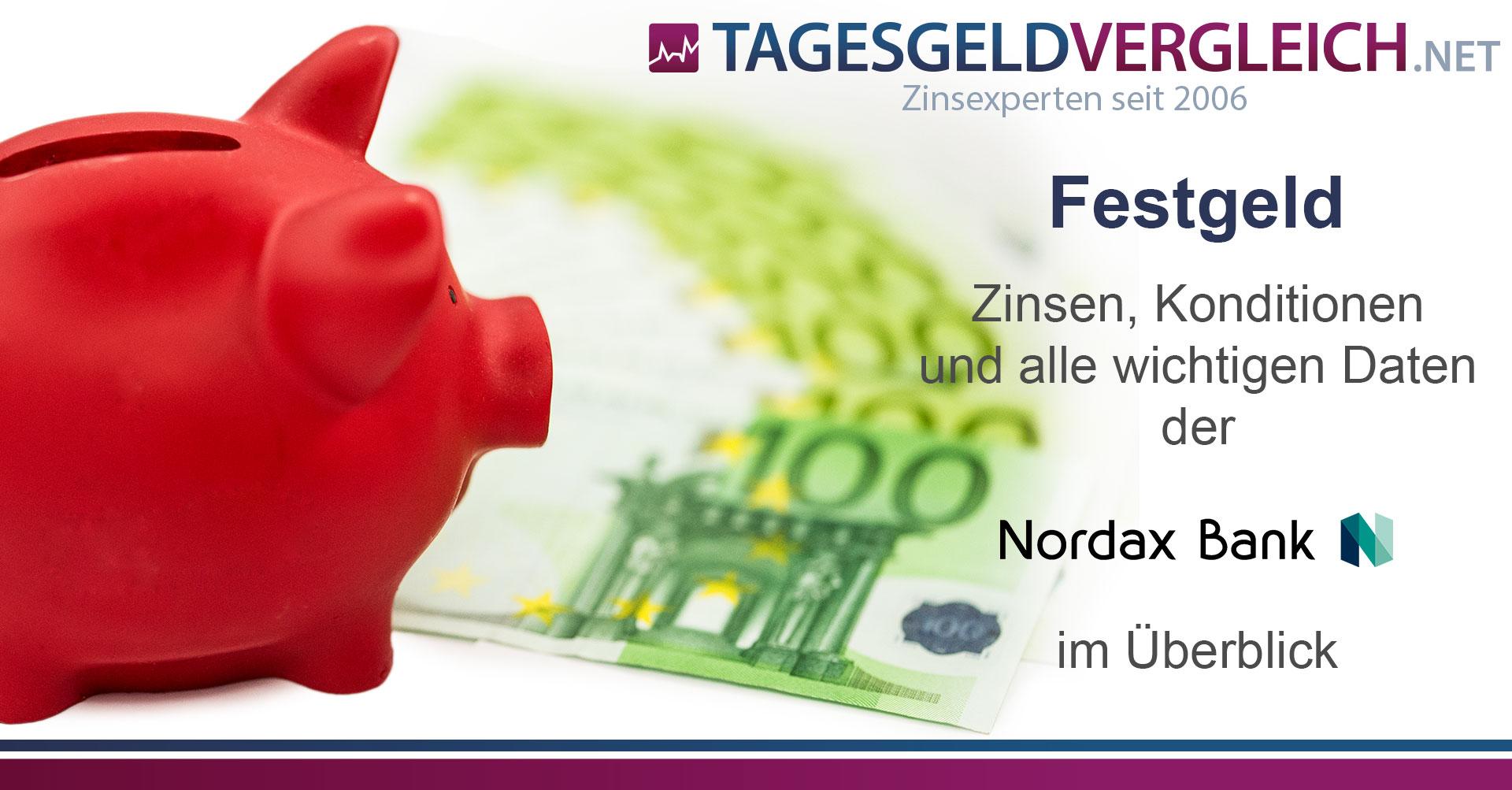 Nordax Bank Festgeld Konditionen Im Test