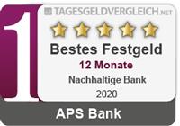 APS Bank - Testsieger im Festgeld-Test 2020