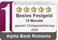 Alpha Bank - Testsieger im Festgeld-Test 2020