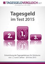 Der Tagesgeld-Test 2015 als PDF für Sie zum Download
